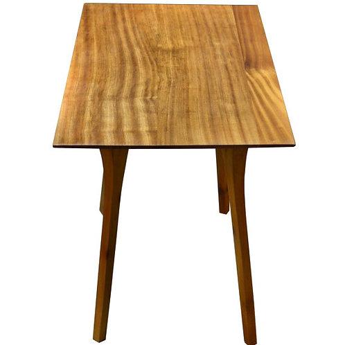 Mid Century Modern Ribbon Mahogany End table