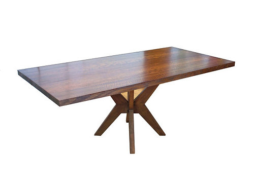 Jillian's Table, Quarter-sawn and figured Red OAK