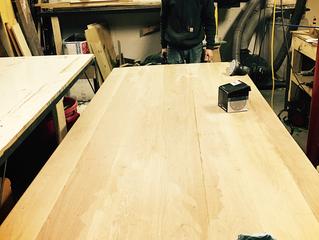 9 Foot Oak Dining Table