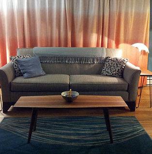 "Living room Modern Cherry Coffee table, 38"" Length"