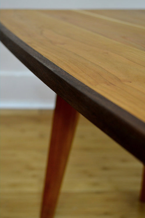 Cherry table with Walnut sides