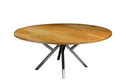 Modern Cherry Round table, 40 inch round, Modern m