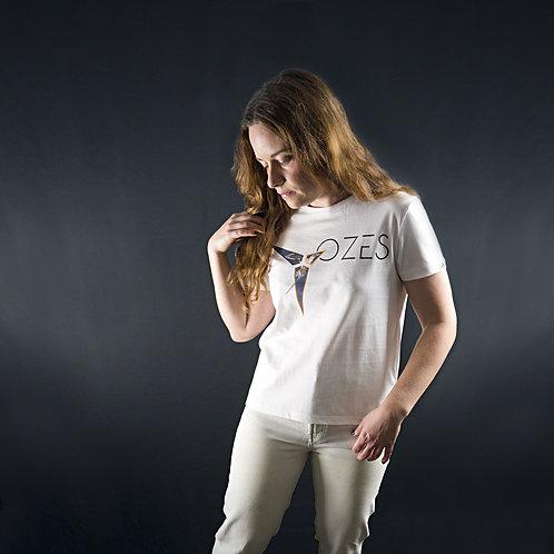 T-shirt Paille en Queue Femme