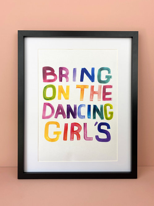Dancing girls!