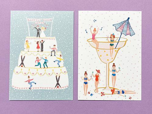 Pair of People Cards