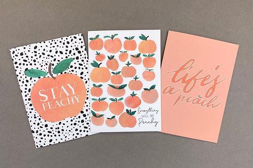 Cheeky Peachy set