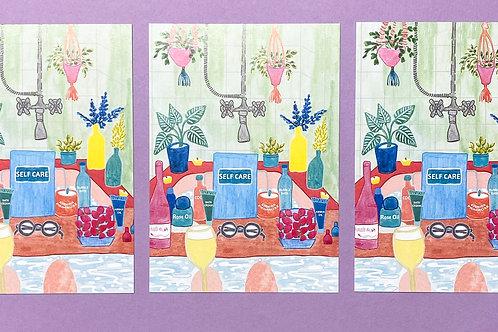 Self Care Postcards