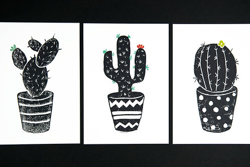 Jenna's set of Prick Postcards