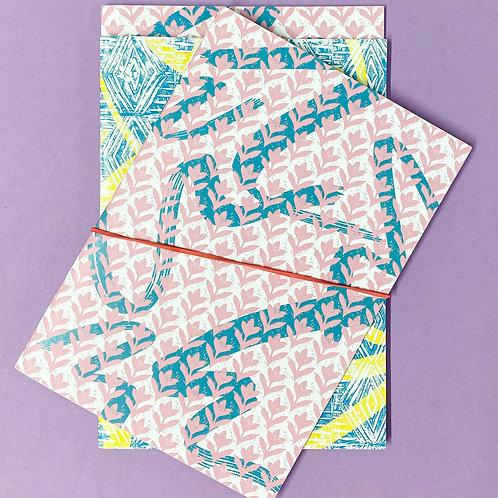 Lino set of 3 Notebooks