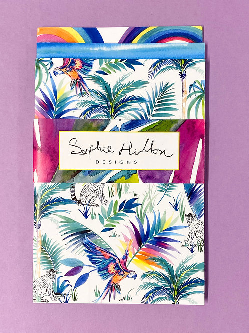 Tropical Trio Notebook Set (with band)