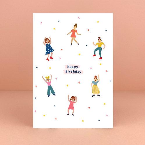 Birthday Boogie Card
