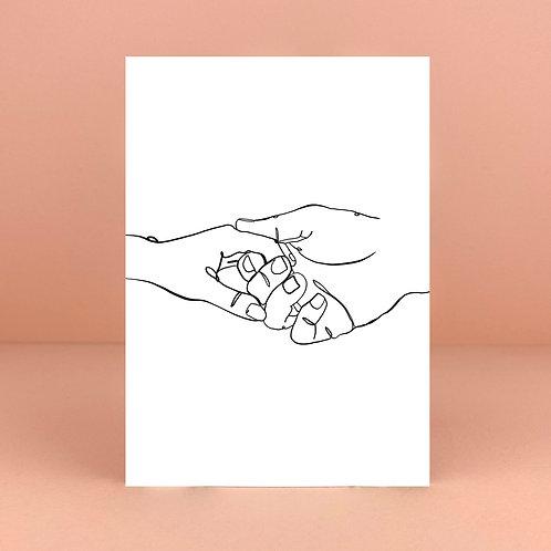 Take My Hand Card