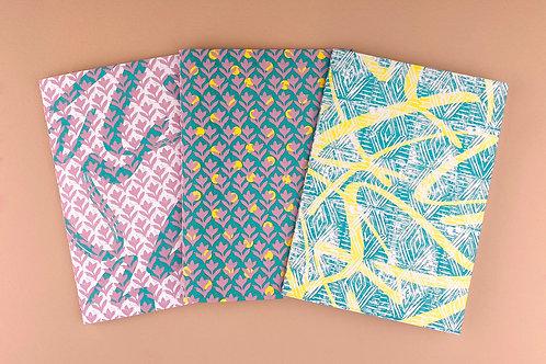 'The Lino Club' Notebooks