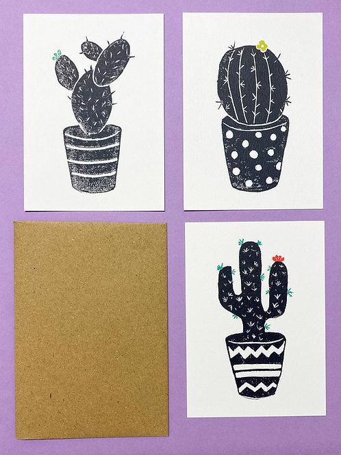 Jenna set of Prick Postcards