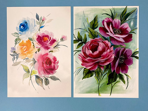 Floral Set A4