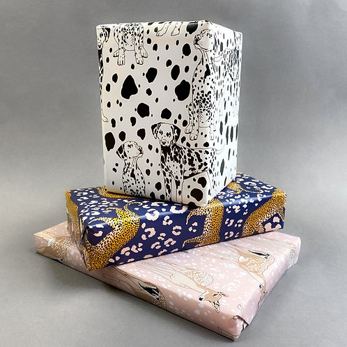 Animal Combo Gift-wrap set