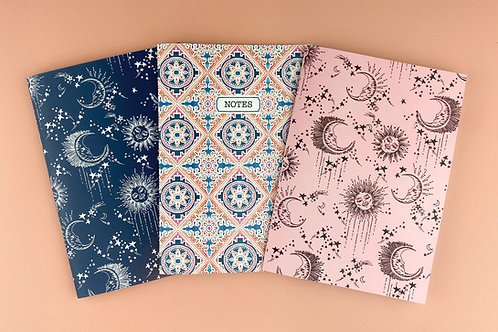 'The Star Gazers' Notebooks