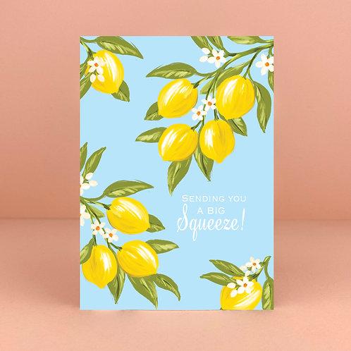 Sending you a big squeeze! Card