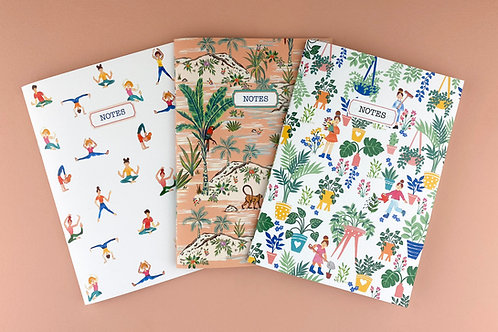 'The Lifestyle Gang' Notebooks
