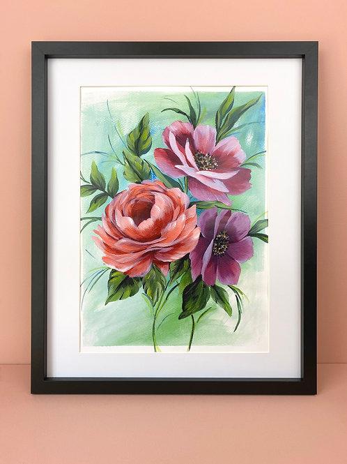 Acrylic Floral