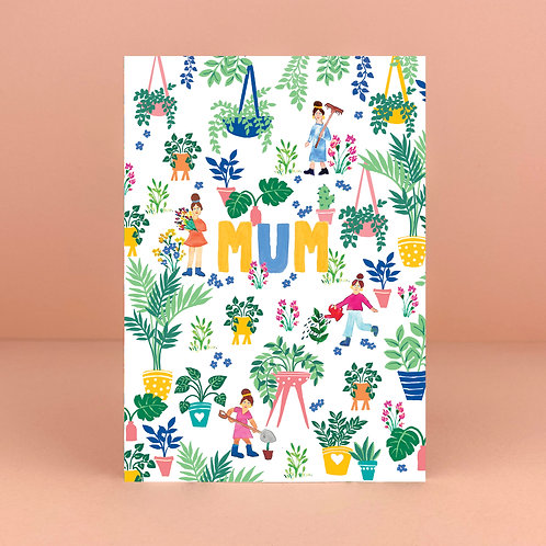 Green Fingered Mum Card