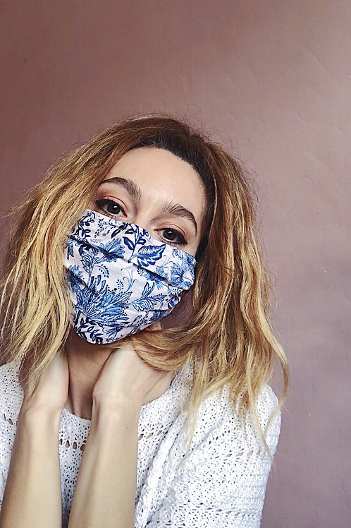 Paisley vs Graphic Floral Mask