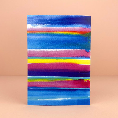 Stripe Greeting Card