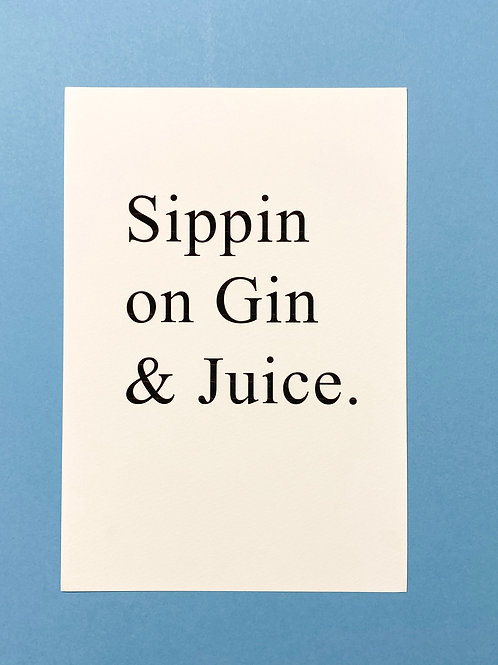 Sippin... (Print lines & wrong size)