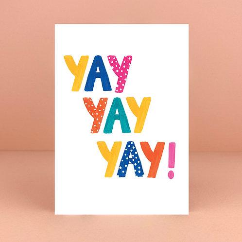 Yay yay yay! Card
