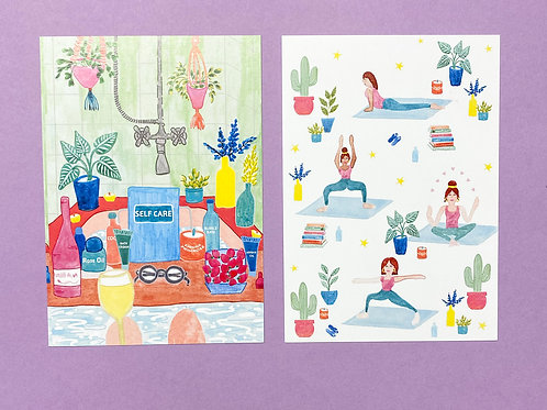 Pair of Postcards