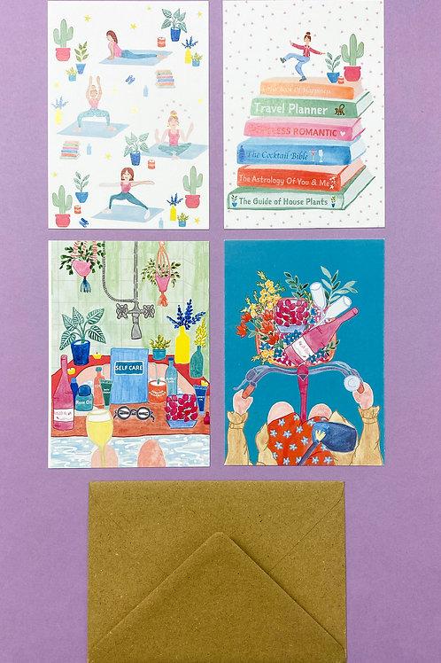 Full set of Postcards