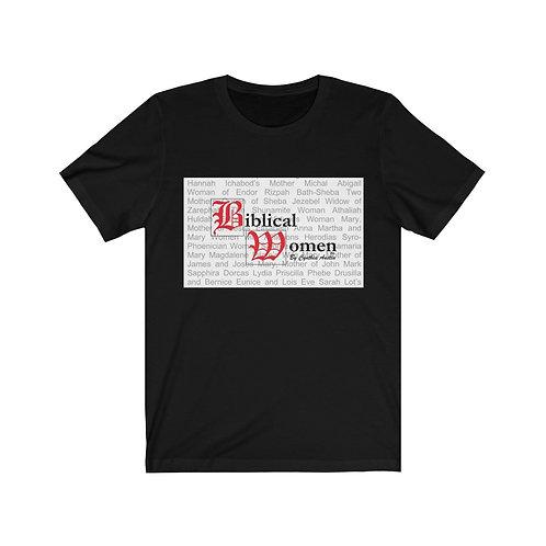 Biblical Women Logo Black Tee