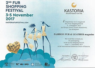 Выставка меха Fur shopping festival Kast