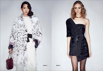 Меха, Меховая мода в журнале Fashion Fur & Leather, новая коллекция мехов Braschi, купить шубу, купить меха
