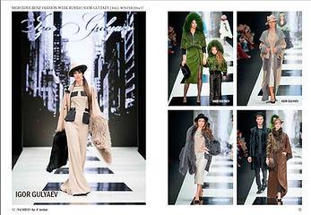 """Мех, Меховая мода в журнале """"Fashion Fur & Leather"""", Дизайнер Игорь Гуляев"""