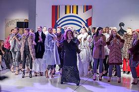 Меховая выставка в афинах Fur excellence in Athens