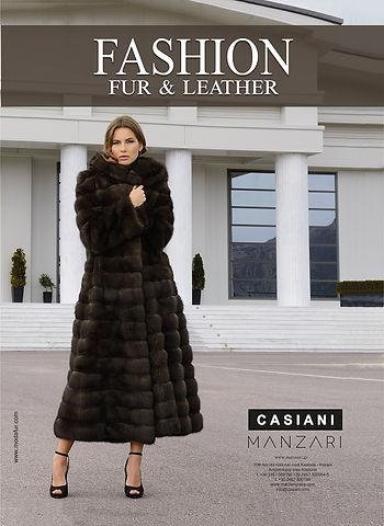 журнал о меховой моде  Fashion Fur & Leather, фабрика меха Casiani, Manzari, меха, меховая мода, купить шубу, купить мех