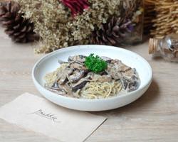 Capellini with Wild Mushroom