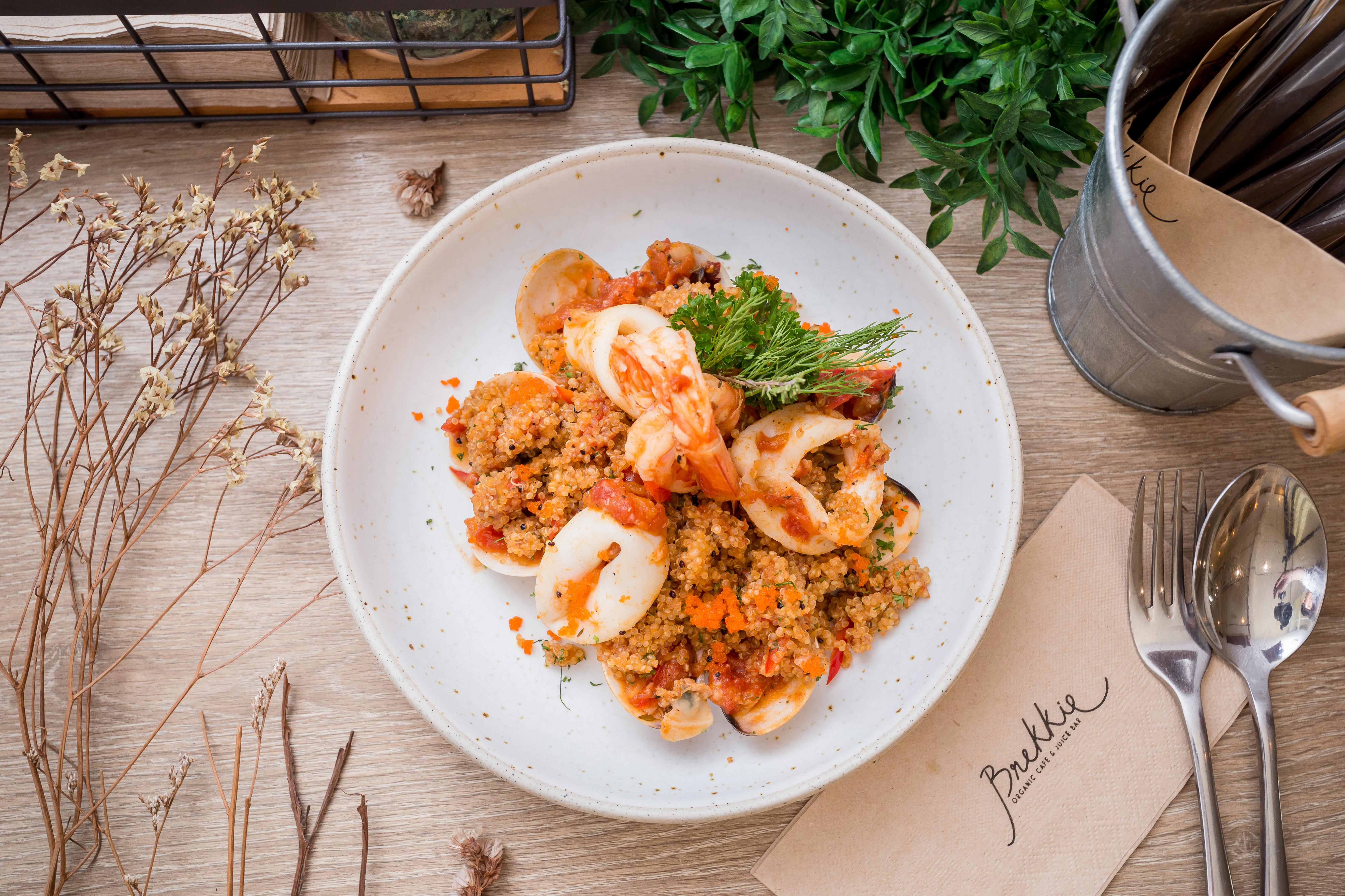 Italian Seafood Quinoa