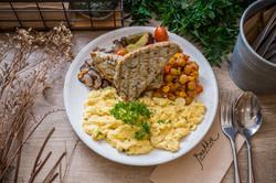 Eggs Any Style Full Breakfast Plate