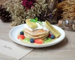 Ricotta Whole Wheat Pancake