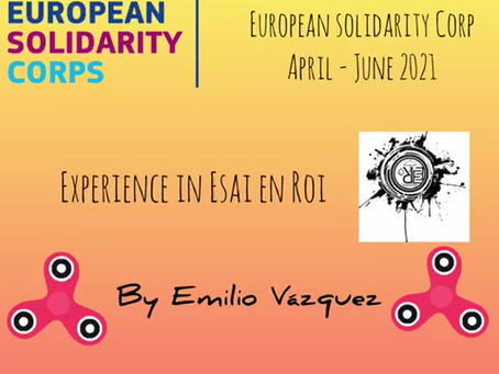 Final Week of my European Solidarity Corps Project