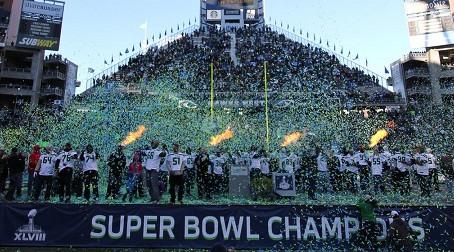 Champions Are Cheered!