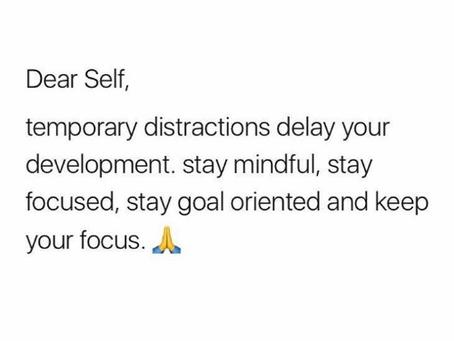 Self Focused = Success!