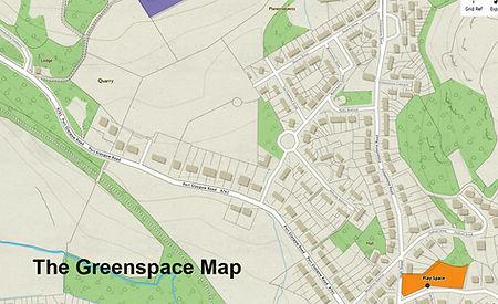 Kilmacolm Meadow Greenspace Map