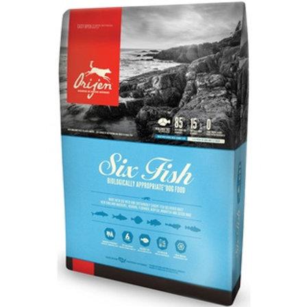 ORIJEN Six Fish Dry Dog Food