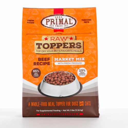 Primal Market Mix Topper Beef