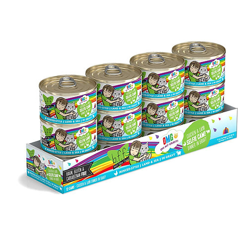 BFF Selfie Cam! Chicken & Lamb Canned Cat Food, 2.8oz, case of 12