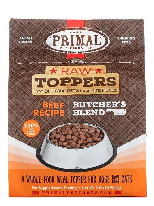 Primal Butchers Block Topper Beef