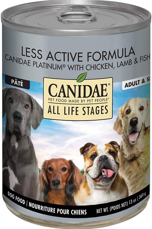 Canidae Life Stages Platinum Formula Canned Dog Food, 13-oz, case of 12